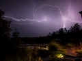 Huge lightning in Alabama extreme storm