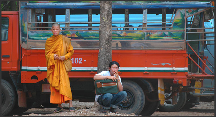 Post image for Thai Monk at Border